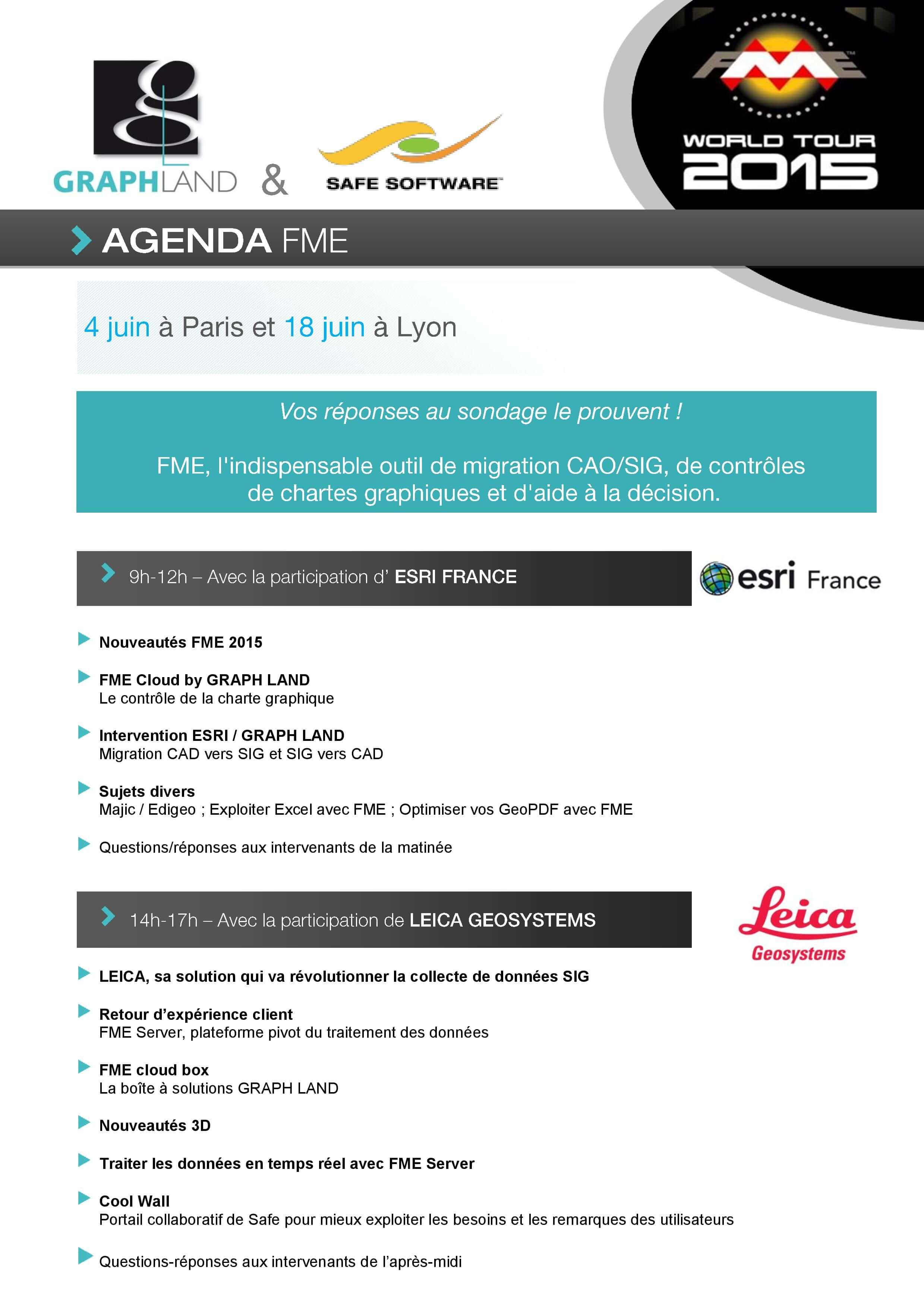 Agenda FMEWT 2015