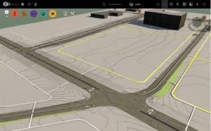 impr-ecran-infraworks-360_affichage-des-courbes-de-niveau-du-terrain