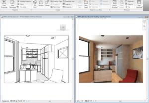 impr-ecran-revit_visualisation-de-la-conception-3d
