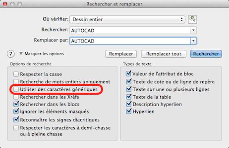 Autocad_rechercher-remplacer